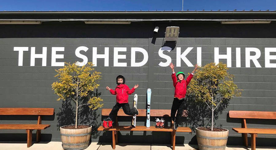 Ski & Snowboard Hire in Jindabyne at The Shed Ski Hire